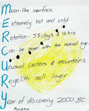 Ocean acrostic ocean acrostic http www cosmopoetry ro mercury