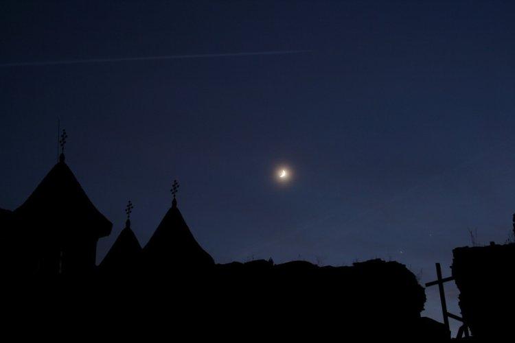 Moon-Venus-Jupiter: Conjunction-Occultation-Conjunction